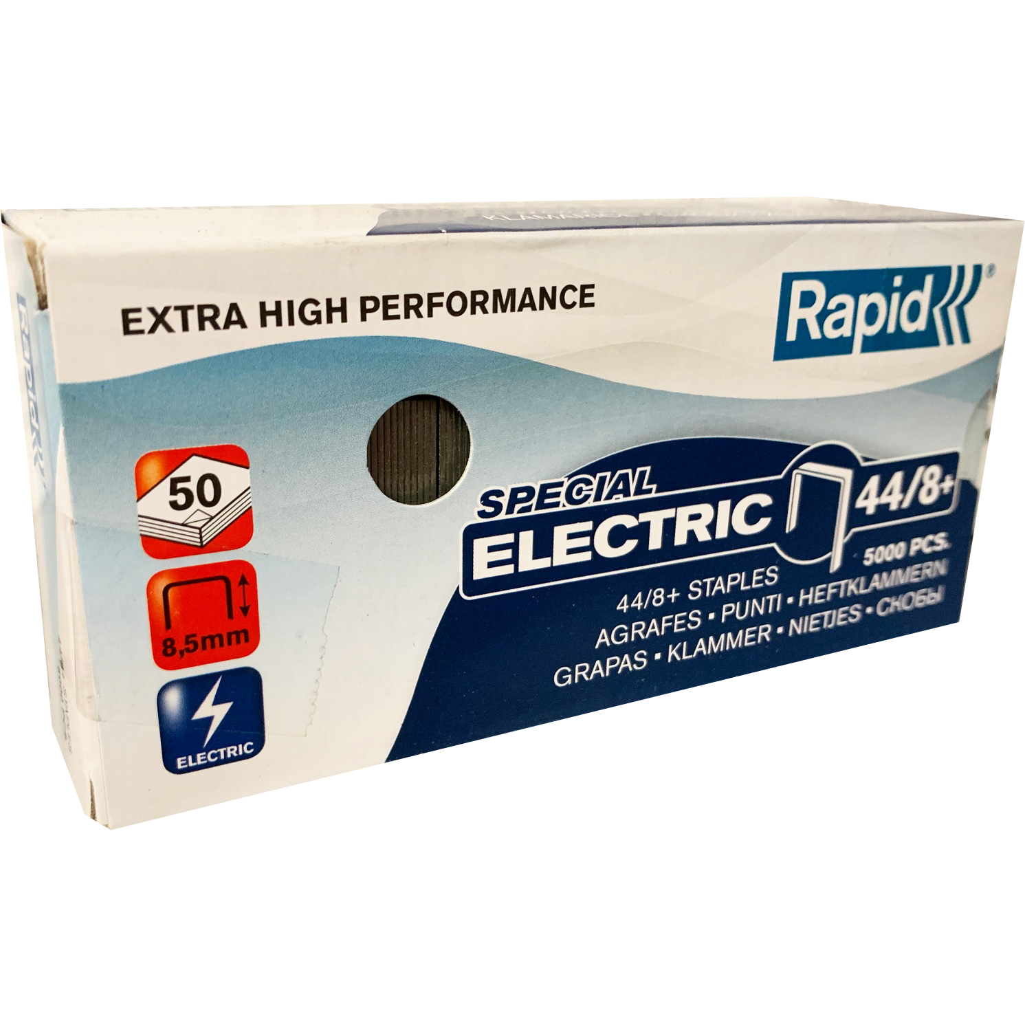 Trade Box Rapid 44/8+ Special Electric Staples (12 Packs)
